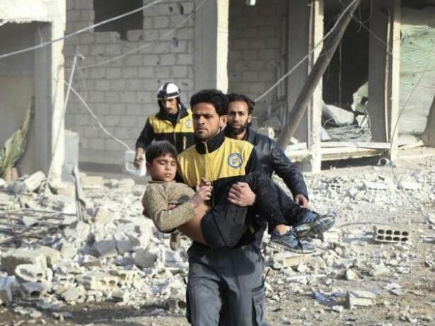 Krieg in Syrien: Trotz UN-Resolution: Neue Angriffe auf syrisches Ost-Ghuta