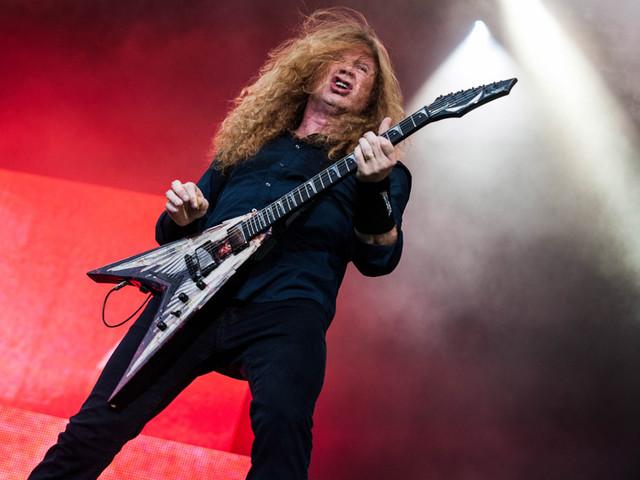 """Megadeths Dave Mustaine will großes """"Big Four""""-Thrash-Konzert zu Abschied von Slayer"""