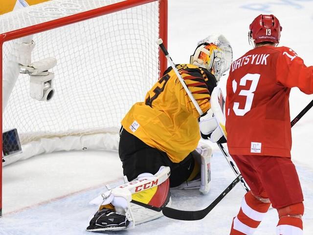 Eishockey bei Olympia 2018: Highlights vom Finale - Deutschland gegen Russland in Bildern