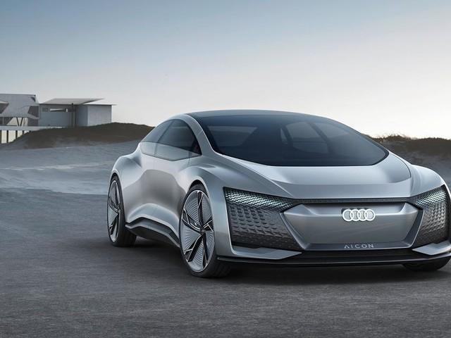 IAA 2017: Audi Aicon - Ohne Lenkrad ins Jahr 2030: Audi träumt sich in die Zukunft