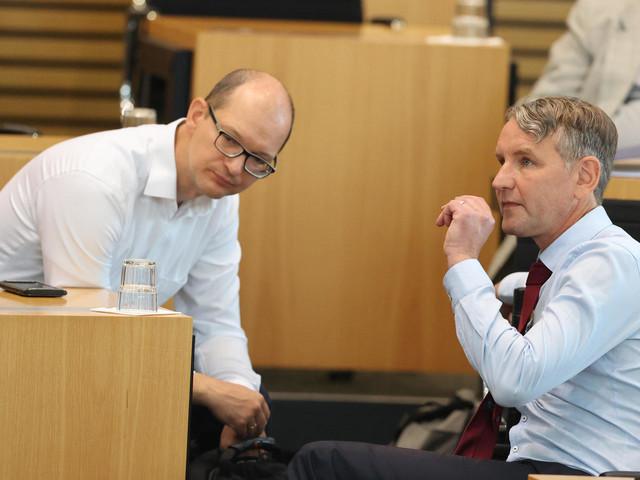Misstrauensvotum in Thüringen: AfD sieht sich als Sieger