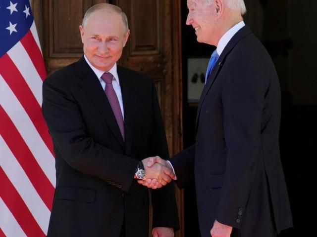 """""""Persönlich ist besser"""": Biden-Putin-Treffen hat begonnen"""