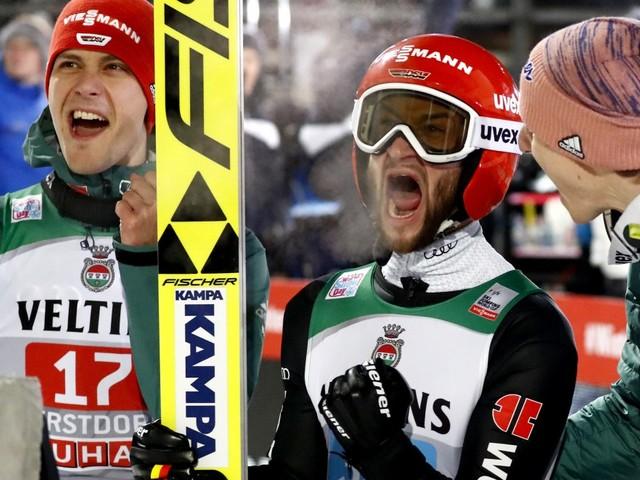 Vierschanzentournee in Oberstdorf: Kobayashi gewinnt, Eisenbichler starker Zweiter