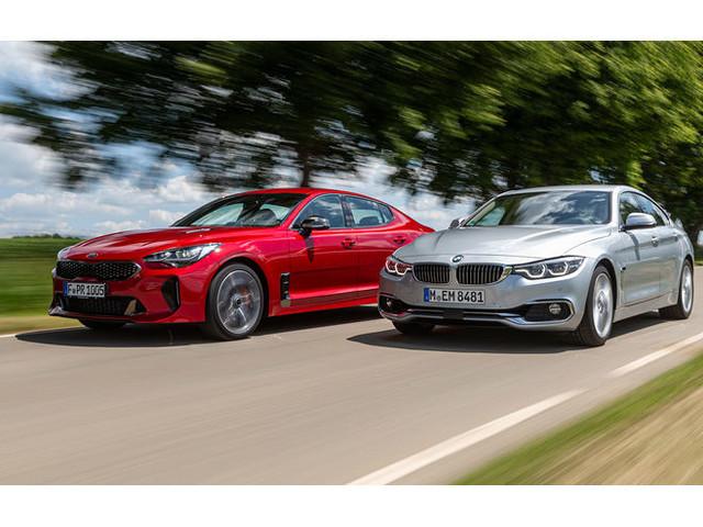 Kia Stinger 3.3 T-GDI & BMW 440i GranCoupé im Test: Überholt diesmal der Kia?