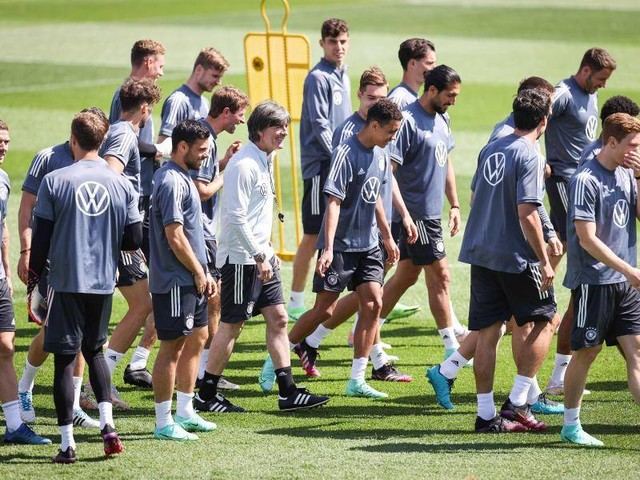Nationalmannschaft: 25 Spieler im DFB-Training - Nur Hofmann fehlt