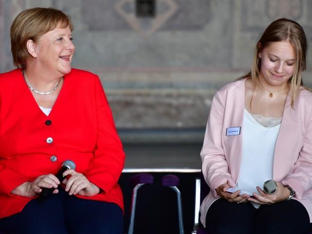 Merkel in Goslar: Kanzlerin im Saft
