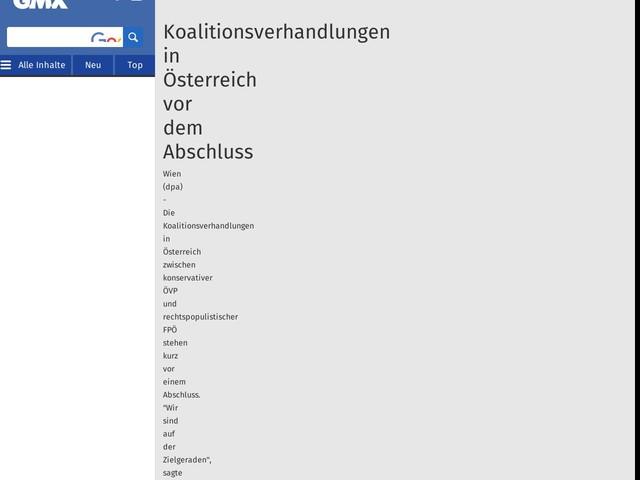 Koalitionsverhandlungen in Österreich vor dem Abschluss