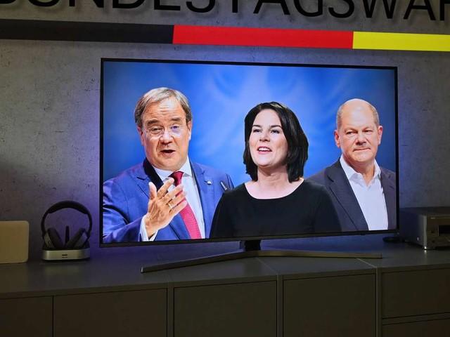 Bundestagswahl 2021: Das letzte TV-Triell mit Baerbock, Scholz und Laschet live im Free-TV und Stream