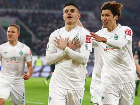 Bundesliga: Rashica-Doppelpack! Werder stoppt Talfahrt