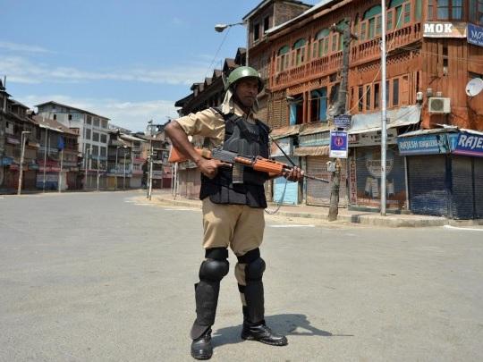 Kaschmir - Gefechte an der Grenzlinie