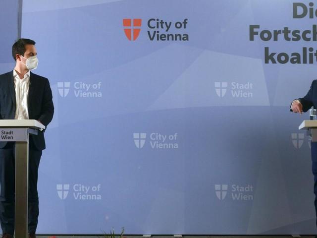 Wiener Stadtregierung: Rot-pinke Harmonie fast ohne Patzer