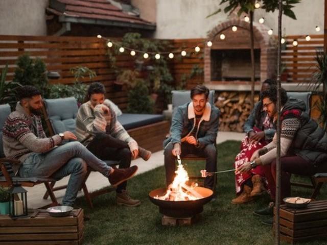 Herbst-Highlight: Feuerkorb und Feuerschale: Das Lagerfeuer für zu Hause