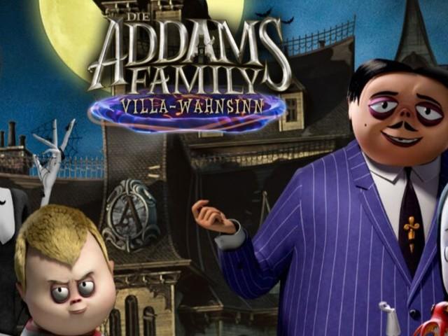 Die Addams Family: Villa-Wahnsinn - Wednesday, Pugsley, Morticia und Gomez laden zur Gruselparty