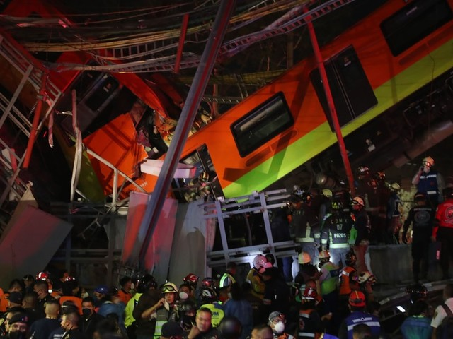 Erster Bericht: Baumängel führten zu Einsturz von U-Bahnbrücke in Mexiko