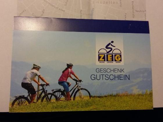 Fahrrad Gutschein Wert 1000 Euro in Münster