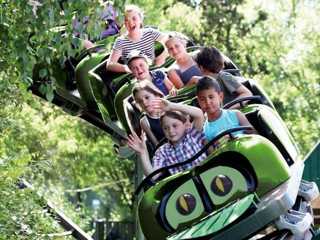 Pretpark de Valkenier gestaltet Kinder-Achterbahn um: Neue Farbe und neuer Name ab 2018