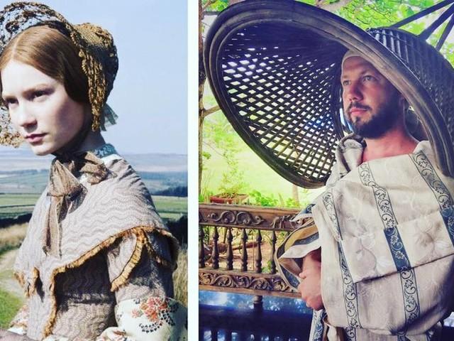 Dieser russische Comedian macht die bescheuertsten Outfits von Stars nach