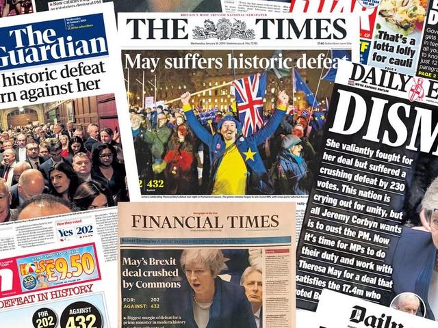Brexit-Berichterstattung: May-be eine Spur zu viel: Die wildesten Wortspiele rund um Theresa May