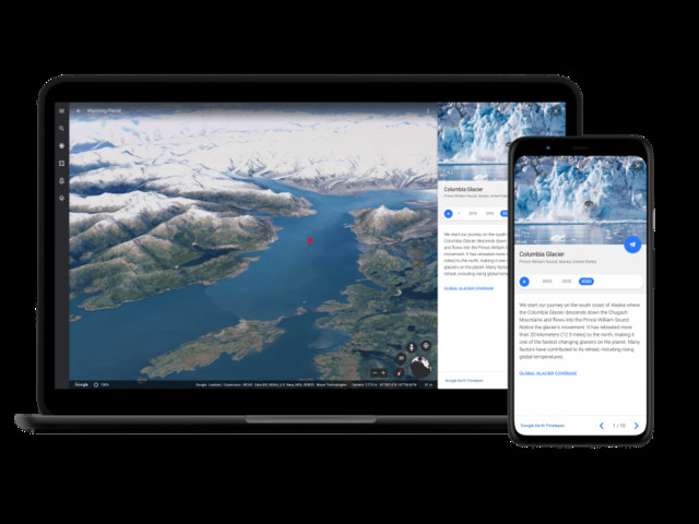 Google Earth führt Timelapse ein: Das größte Video der Welt