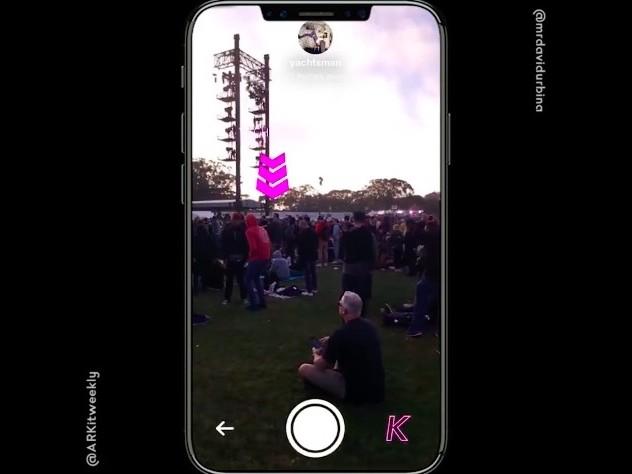 ARKit: So findet ihr Freunde in Menschenmengen wieder