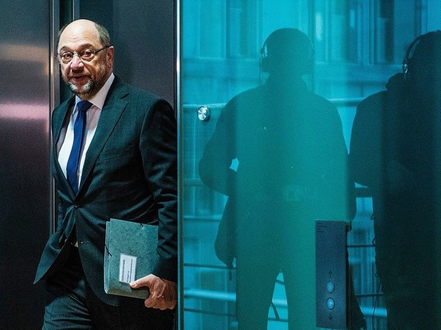Schulz warnt vor »Mutti« und den Grünen