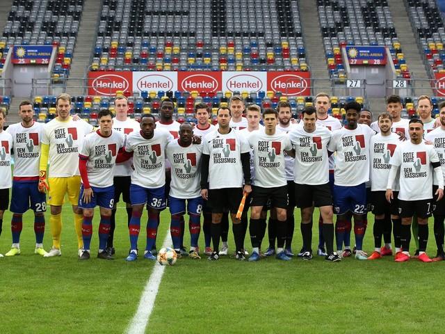 Die 3. Liga setzt ein Zeichen gegen Rassismus