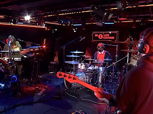 Anderson .Paak live bei der BBC 1Xtra Live Lounge // Full Video