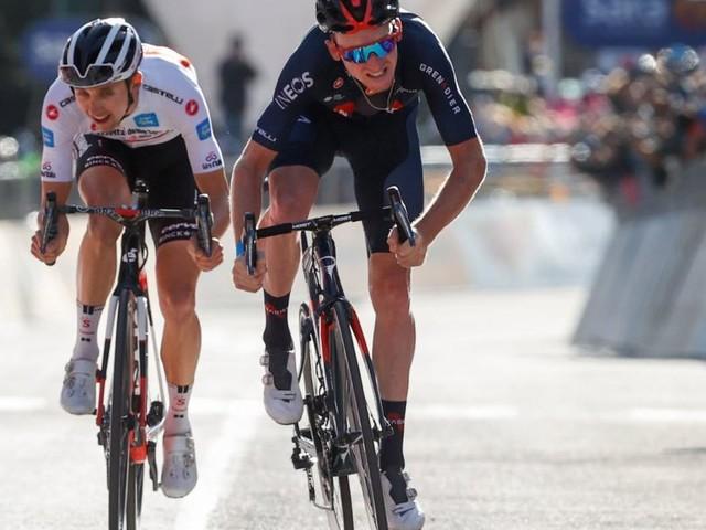 Sekundenduell um den Sieg beim Giro d'Italia