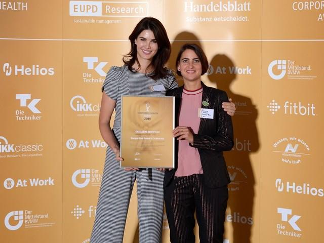 """Europa-Park in der Exzellenzklasse mit """"Corporate Health Award"""" ausgezeichnet"""
