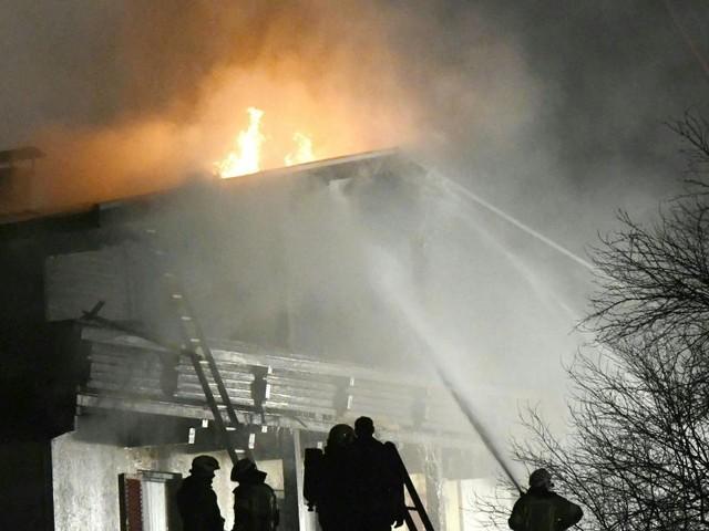 Landwirtschaftliches Anwesen im Bezirk Rohrbach brannte