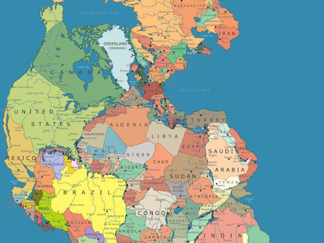 Bevor Pangaea auseinanderfiel: Weltkarte zeigt, welche Länder einst aneinandergrenzten