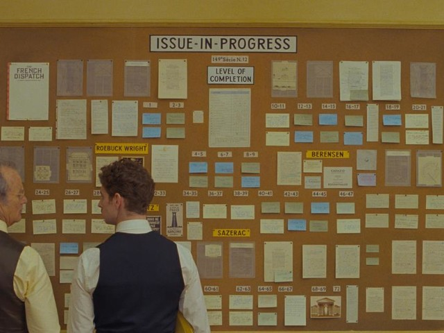 """Filmkritik zu Wes Andersons """"The French Dispatch"""": Sehr viel mehr davon"""