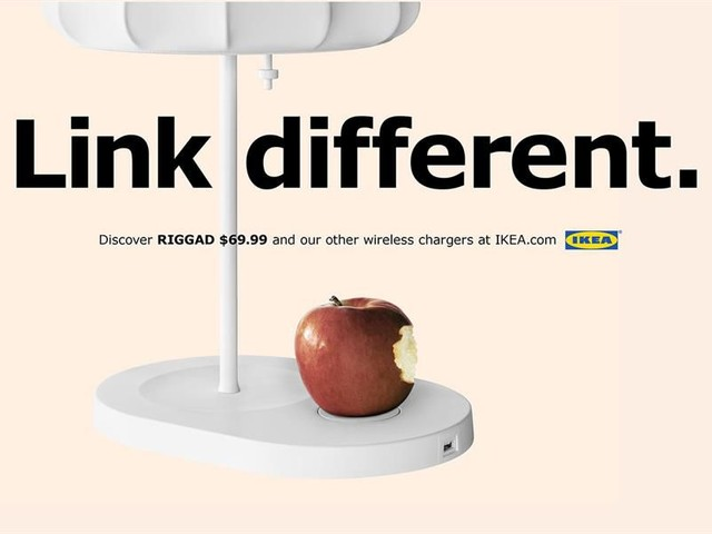 Qi-Ladegeräte: IKEA nutzt iPhone 8 Verkaufsstart für Werbekampagne
