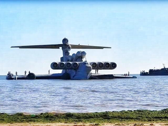 Bodeneffektflugzeug: Russlands letzter Ekranoplan wird Museumsstück