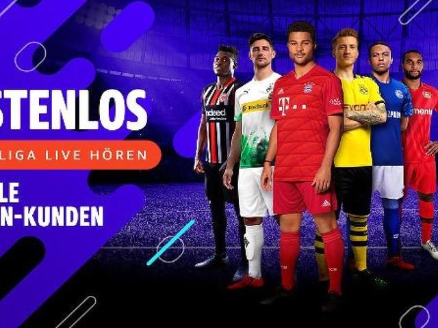 "Ohne ""Amazon Prime""-Konto - Bundesliga & Co: Gratis Fußball-Audio-Streams für alle Amazon-Kunden"