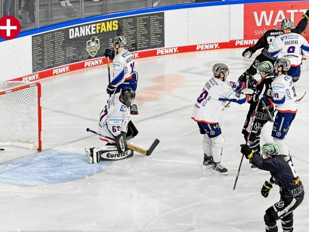 Eishockey: Iserlohn Roosters leisten erneut Aufbauhilfe