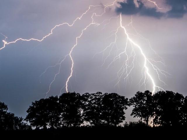 Gefahr von starken Unwettern an diesem Wochenende