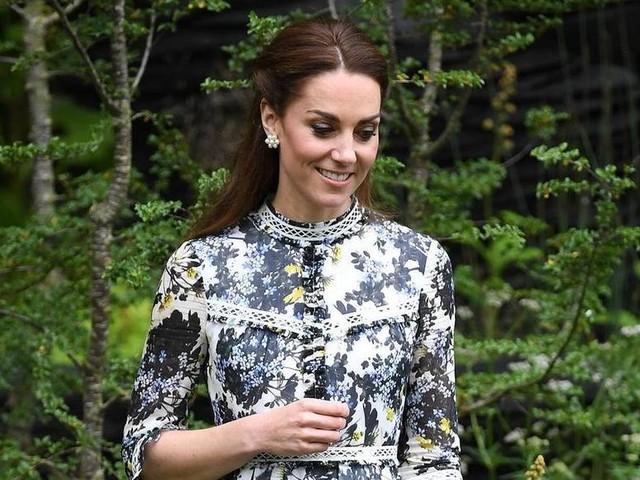Herzogin Kate wird mit Millefleurs-Kleidern zum Blumenkind