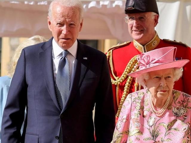 Empfang in Windsor: Was Biden bei Queen-Besuch anders machte als Trump