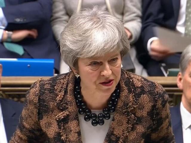 Brexit-Rede: May umgarnt Parlament und versichert Bestehen des Nordirland-Abkommens