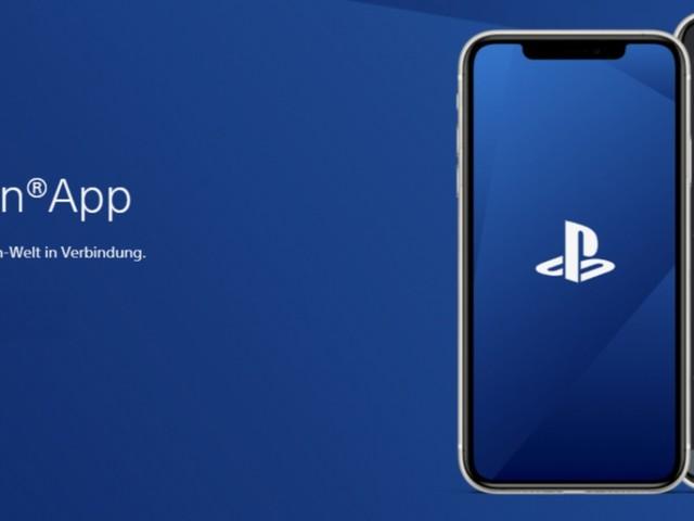 Überarbeitete PlayStation App erschienen