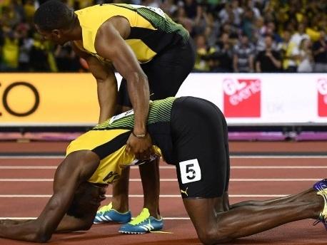 Leichtathletik-WM in London: Bolt beendet Karriere mit Verletzung