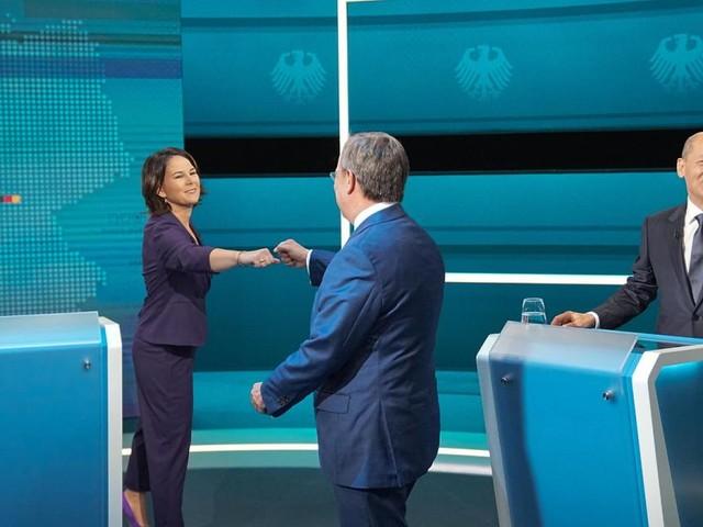 Erstes deutsches TV-Triell: So haben sich Scholz, Laschet und Baerbock geschlagen