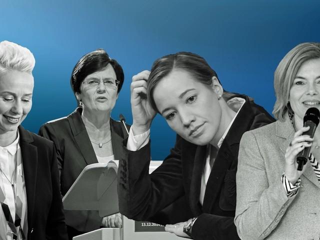 Parteivorsitz: Diese vier Frauen hat die CDU nicht auf dem Schirm