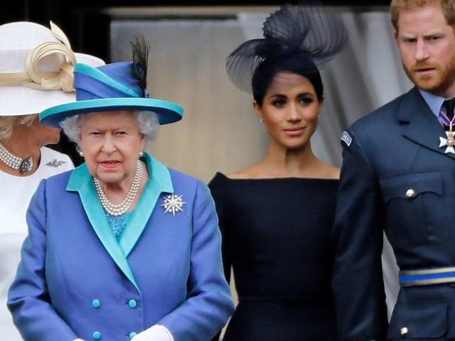 """Queen: """"Sehr geliebte Mitglieder der Familie"""" - doch eine Sache ändert sich radikal für Meghan und Harry"""