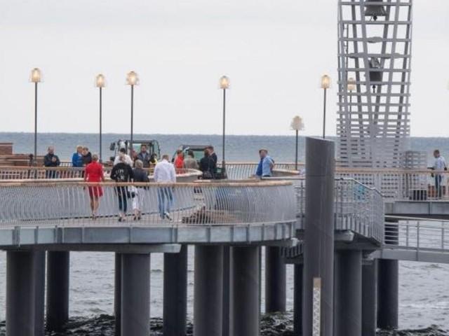 Seebrücke in Koserow jetzt eröffnet