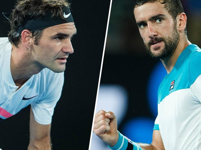 Australian Open: Roger Federer und Marin Cilic im Head-to-Head