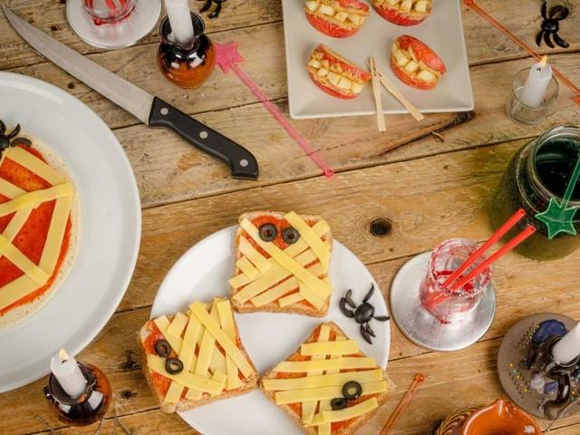 Gruselige Snack-Ideen für die Halloween-Party
