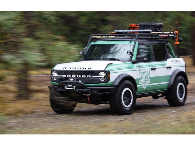 Ford Bronco + Filson Wildland Fire Rig Concept: Offroader für Wildhüter und Feuerwehrleute