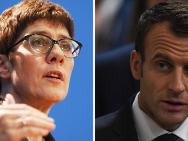 AKK antwortet auf Macrons Europa-Pläne: Wenigstens in einem sind sie sich einig